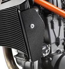 CARBON RADIATOR PROTECTION LEFT/RIGHT
