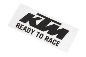 Matrica - KTM LOGO STICKER BLACK/WHITE
