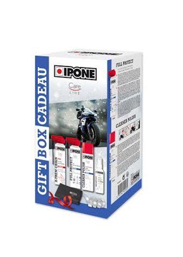 IPONE motorkerékpár tisztító és ápoló készlet